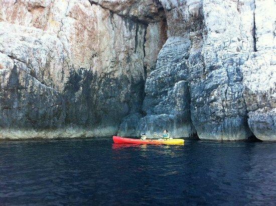 Apartments Dubrovnik Cavtat : Sea kayaking