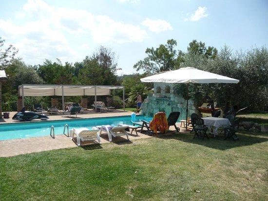 Borgo Fontanile: piscina