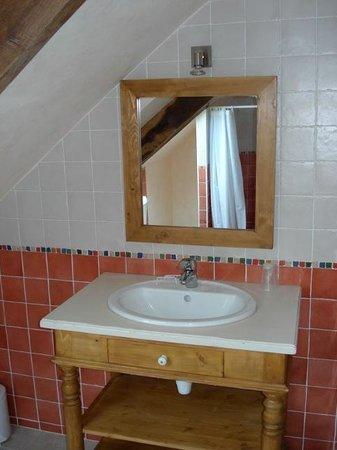 Chambres d'Hôtes à la Ferme de Keroter : Salle de bains