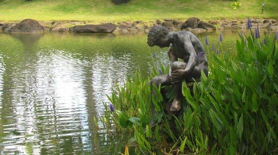 Na Aina Kai Botanical Gardens: Beautiful ponds, plants and sculptures create a magical space
