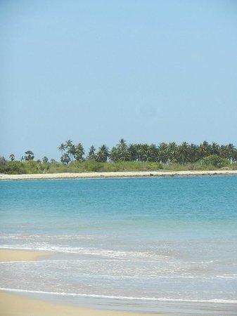 Nandawanam Guesthouse: La plage de Pasikudah à proximité