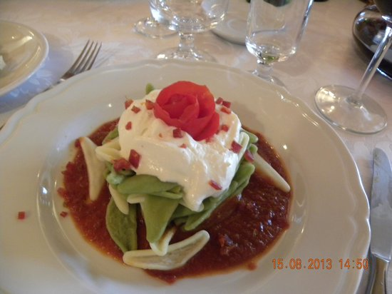 Hotel Picchio Nero: foglie d'ulivo  al tricolore