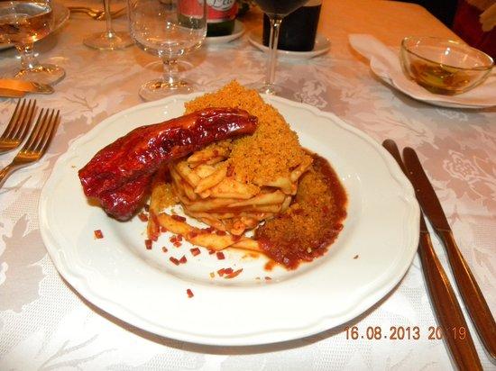 """Hotel Picchio Nero: I """"ferrazzuoli"""" con mollica e peperone crusco"""