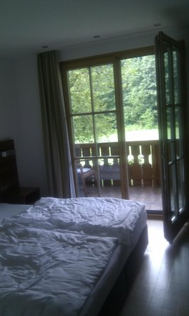 Boutique-Hotel am Essigmanngut: Room and Balcony
