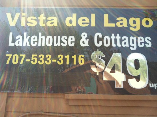 Vista del Lago Lakehouse and Cottages: A great place at a great price!