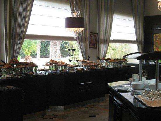 The Russelior Hotel & Spa: petit dejeuner