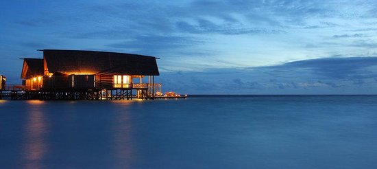Cocoa Island by COMO: COMO Sunset Villa At Night Crop