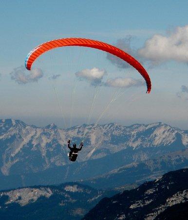 Obertrauner Hof: paraglide festival