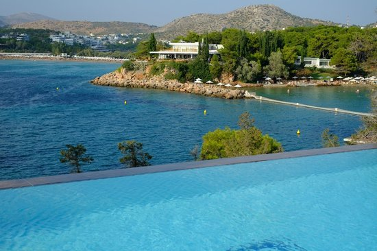 Arion, a Luxury Collection Resort & Spa: View from Infinity Pool