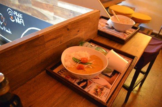 my Indigo: Curry mit Reis
