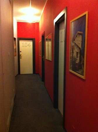 Hotel Colorado Lugano: red light district?
