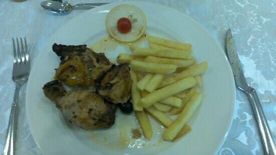 Hotel Pigalle : pollo alla diavola con patatine