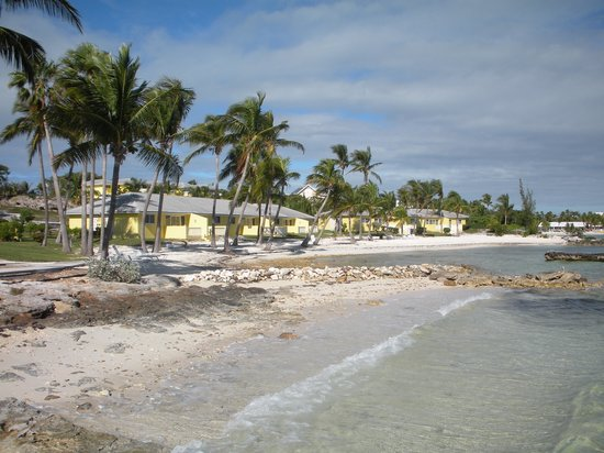 Regattas of Abaco: You can see how close everything is to the beach.