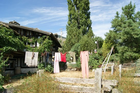 Rustico Farm & Cellars: A little laundry, part of the charm :)