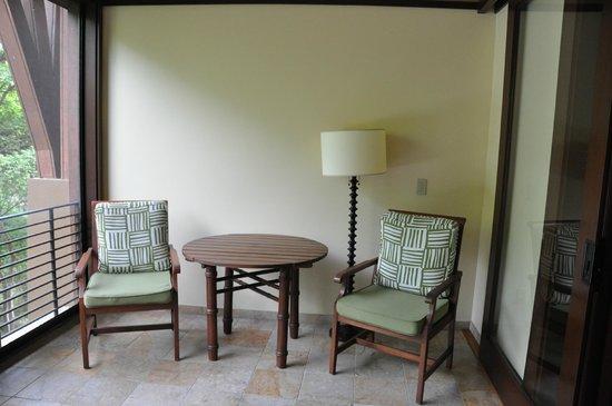Four Seasons Resort Costa Rica at Peninsula Papagayo: Our balcony