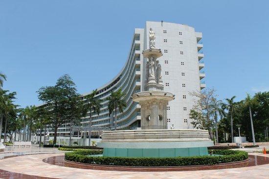 Centro Cultural de Acapulco: Aquí estará el hotel