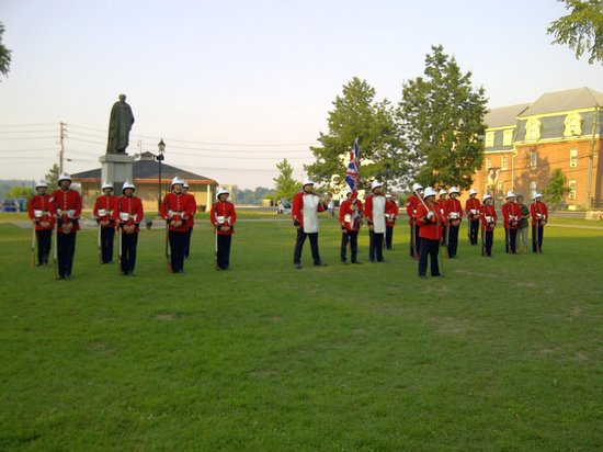 Officers' Square: Full Inspection of the Guard