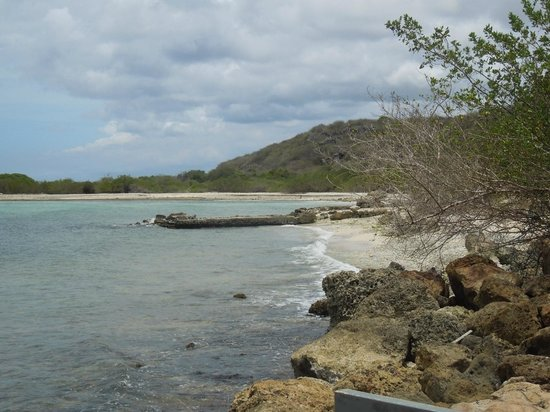 Playa Jan Thiel: This portion of the beach property is nicer