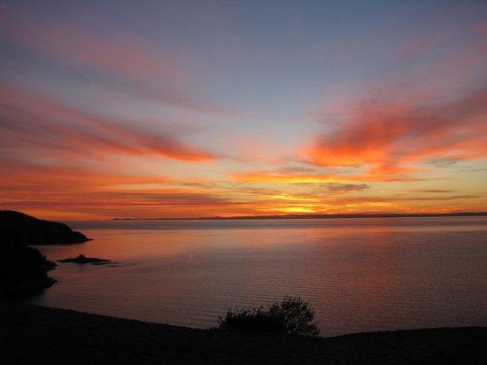 Observatoire d'Oiseaux de Tadoussac : Lever de soleil aux dunes