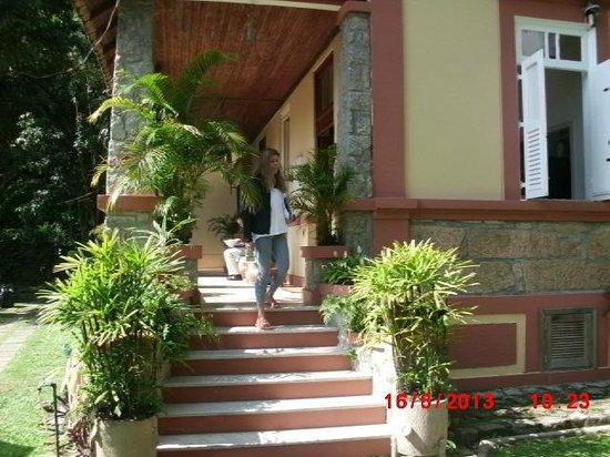 Casa Caminho do Corcovado : Entrada principal