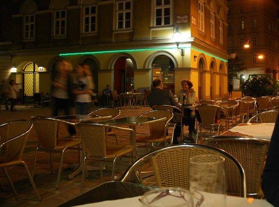 Restaurant Salzamt: I tavolini all'aperto del Salzamt