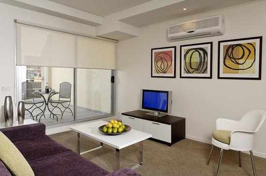 Punthill Essendon Grand Apartments: One Bedroom Living Area