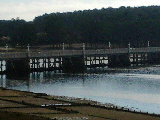 Hotel Brasil I: Puente a la isla de La Toja