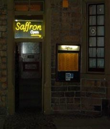 Saffron Restaurant : Front Entrance