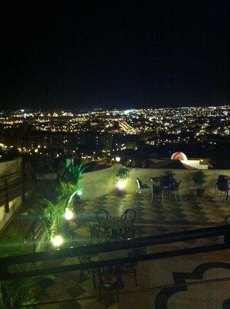 Restaurante Amador : panorama dal ristorante con vista sulla terrrazza