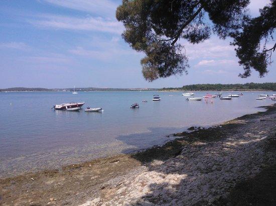 Villa Zibi -  bed & breakfast: Campsite beach