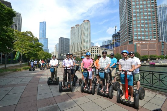 Steve's Segway Tours: Urban Real Estate rides Segway!
