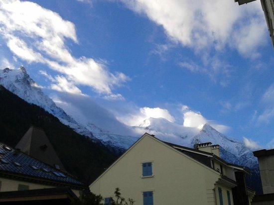 Park Hotel Suisse & Spa: Vue de la chambre