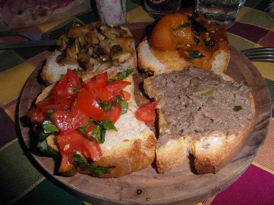 Locanda di CasalMustia: cena