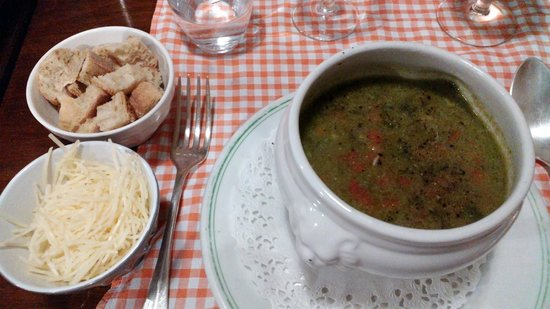 Chez Palmyre : Vegetable soup (basic but so traditional and nice)