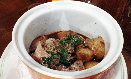 Chez Palmyre : Porc confit (absolutely excellent)