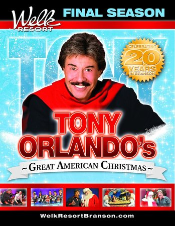 Welk Resort Theatre: Tony Orlando's Great American Christmas