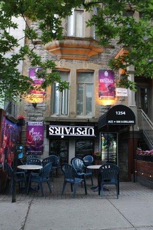 Photo of Bar Upstairs Jazz Bar & Grill at 1254 Mackay, Montreal H3G 2H4, Canada
