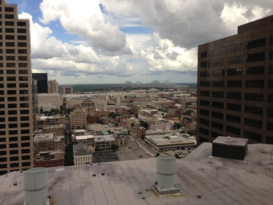 Hyatt Regency New Orleans: View from the Regency Club