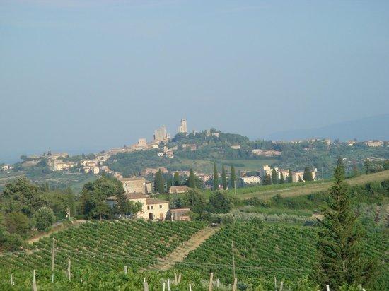Villa del Pino: San Gimignano
