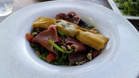 Cap Riviera : Chevre salad (a failure)