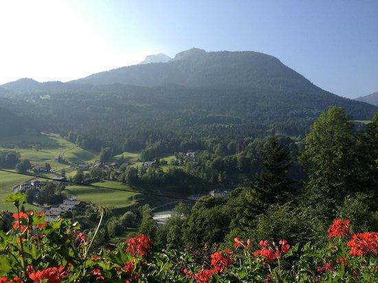 Gaestehaus Bergwald: View from balcony (Eagles Nest)