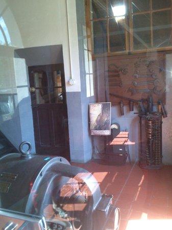 Le Funiculaire de Saint-Hilaire du Touvet : la salle des machines
