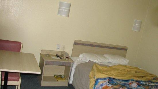 Motel 6 Portland: chambre vide