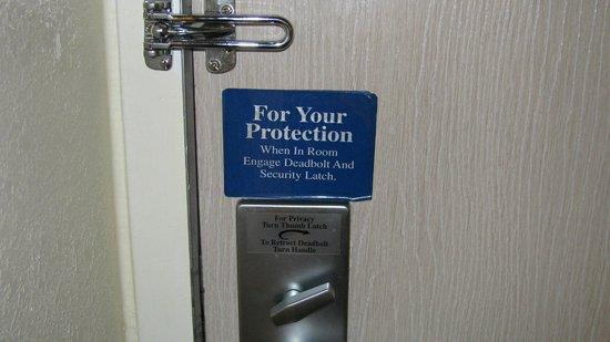 Motel 6 Portland : un des nombreux avertissements