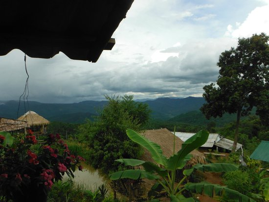 Next Step Thailand (Travel with Joe) Cycling and Hiking Private Day Tours : amazing view at villas