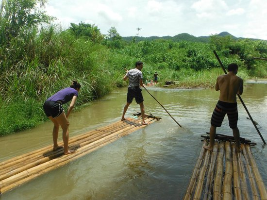 Next Step Thailand (Travel with Joe) Cycling and Hiking Private Day Tours : river rafting