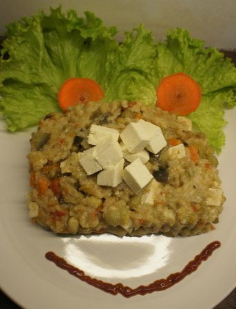 La Molienda: Paella vegetariana con Tofu