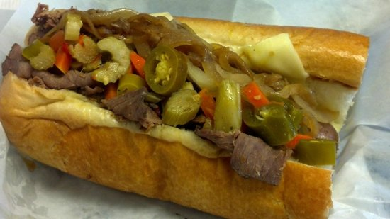 A Taste of Chicago's Italian Style Beef: Mr. O's House Special Sandwich
