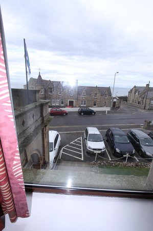 Stotfield Hotel: Paid extra for our sea view
