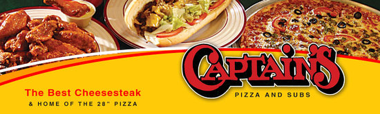 Captains Pizza & Sub Restaurant: The one and only